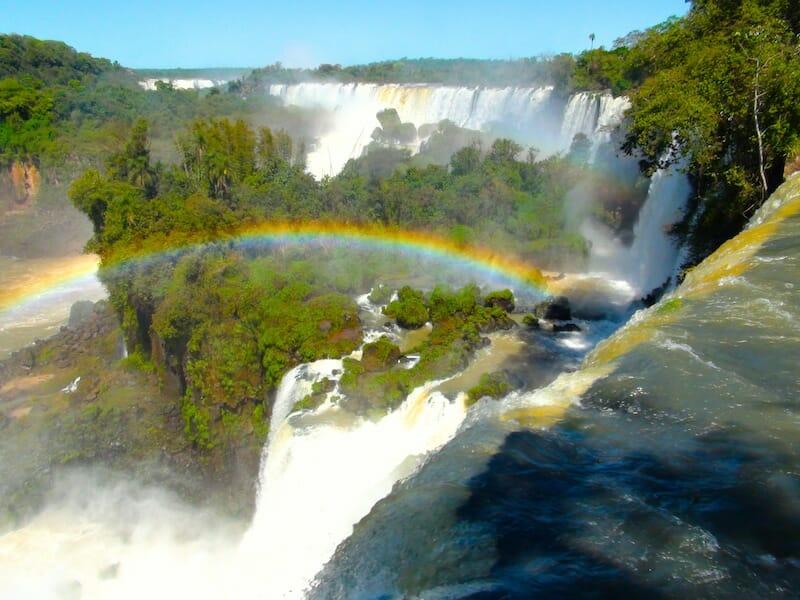 Arc en Ciel Chutes d'Iguazu