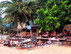 bar sairee beach koh tao thailande