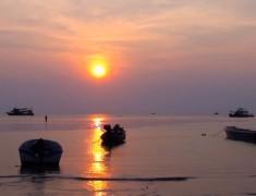 coucher de soleil koh tao