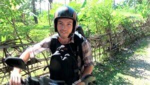 alex scooter bali
