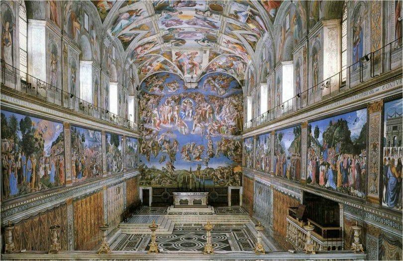 visiter chapelle sixtine rome