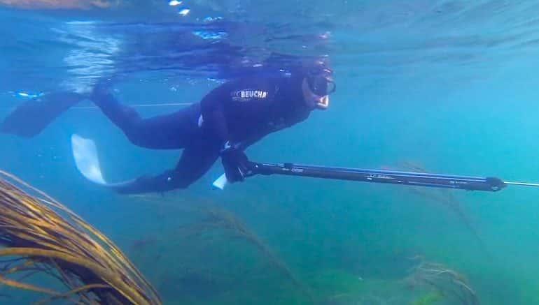 chasse sous marine bretagne Vizeo blog voyage
