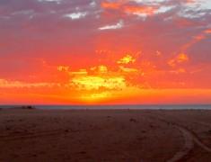 coucher de soleil exmouth