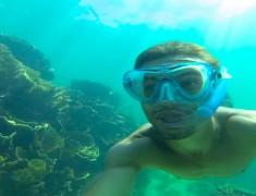 snorkeling coral bay australie