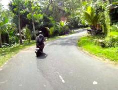 bali en scooter