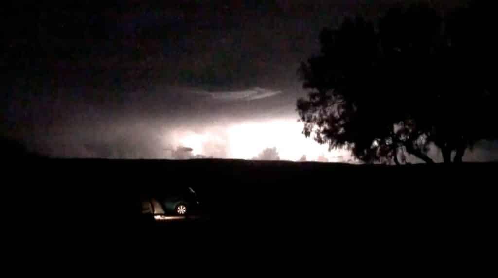 orage de chaleur road trip australie