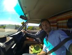 dans le van road trip australie