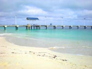 ponton plage australie