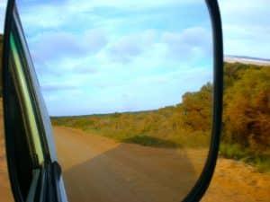 van road trip australie vue gopro