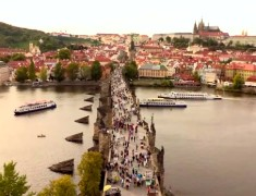 point de vue pont charles weekend a prague
