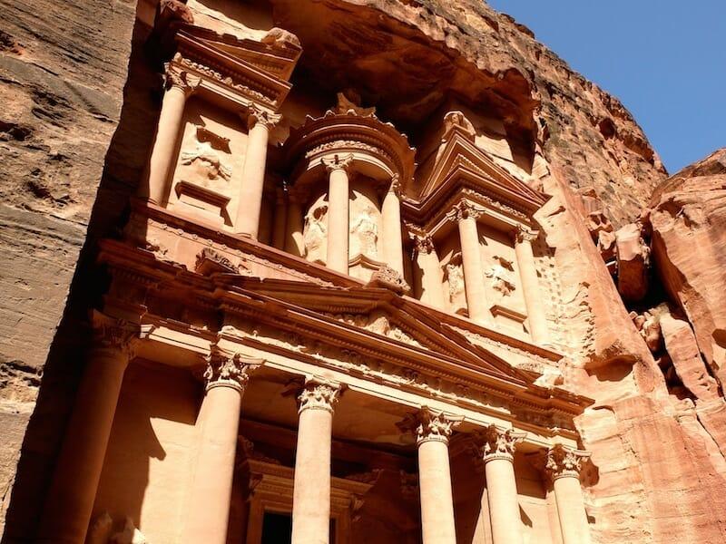 Tresor petra jordanie