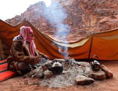 bedouin tea wadi rum