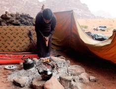 bedouin wadi rum feu