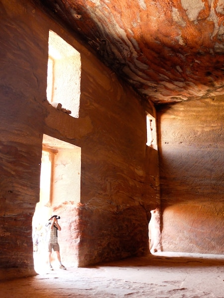 petra interieur jordanie