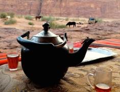 tea wadi rum jordanie