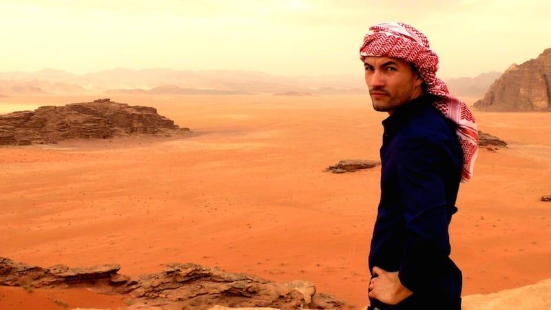 alex vizeo jordanie wadi rum