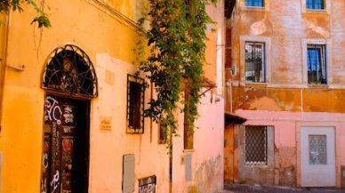 rue trastevere rome