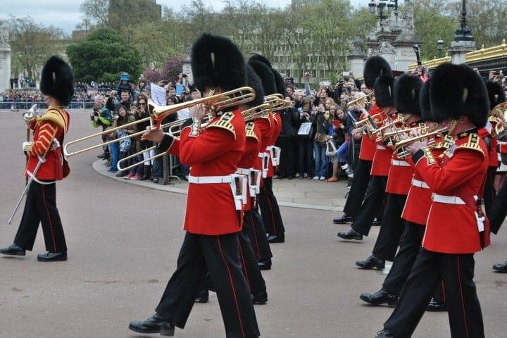 Fanfare Garde Royale Buckingham Londres