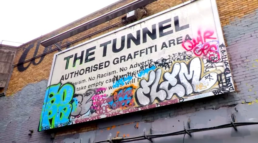 affiche The Tunnel weekend a londres