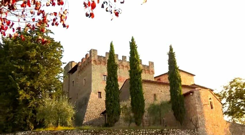 chateau vignoble Pietraio toscane