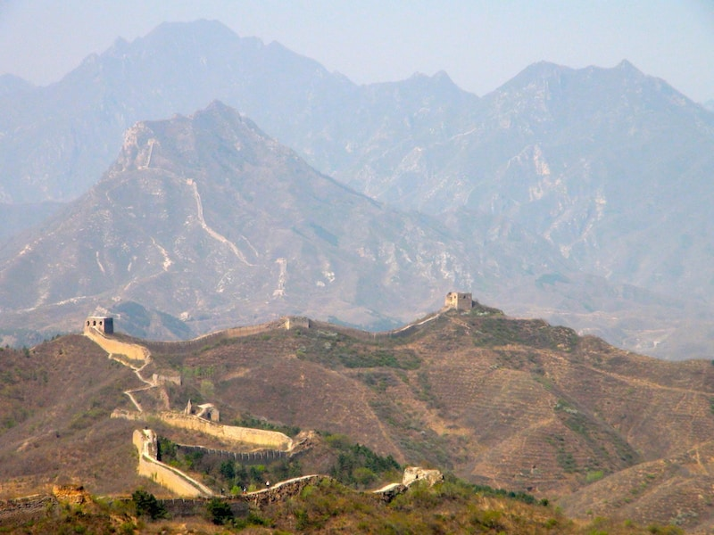 panorama grande muraille