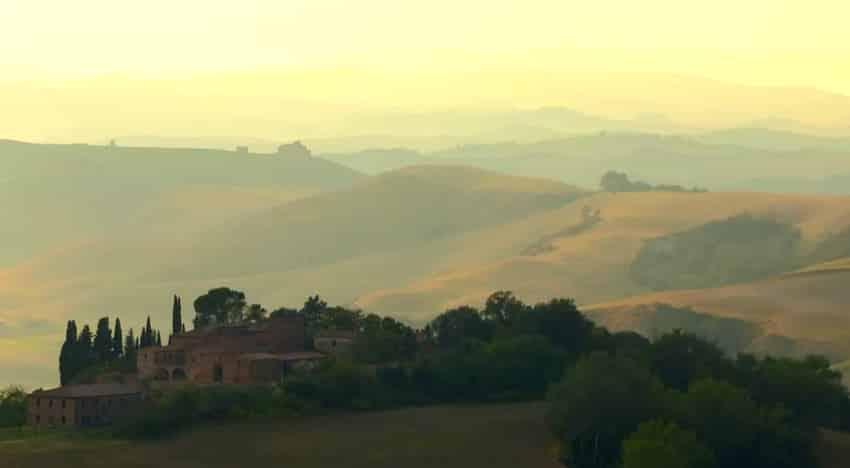paysage arriere pays toscane