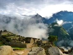 paysage sur le machu picchu