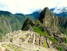 photo carte postale sur le machu picchu