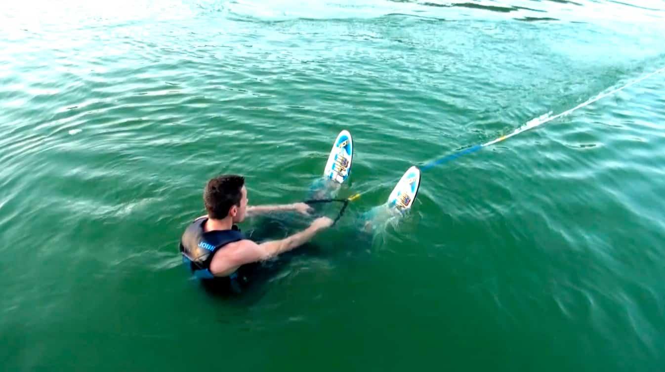 ski nautique lac du causse départ