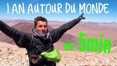 Alex VIzeo 1 an autour du monde en 5min