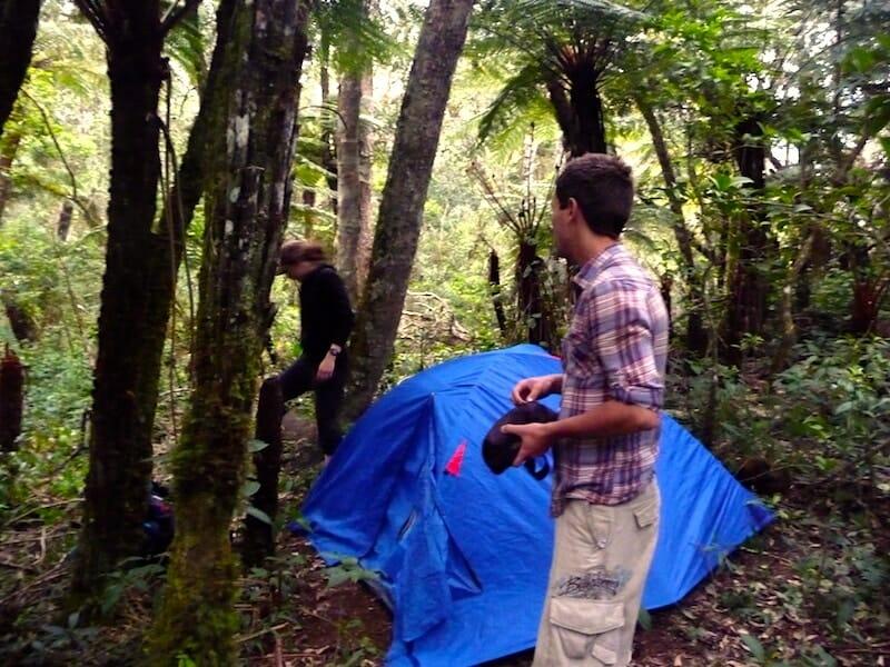 camper dans la jungle bolivie