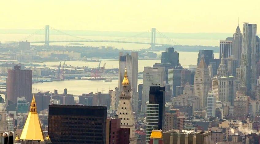 vue du top of the rock nyc