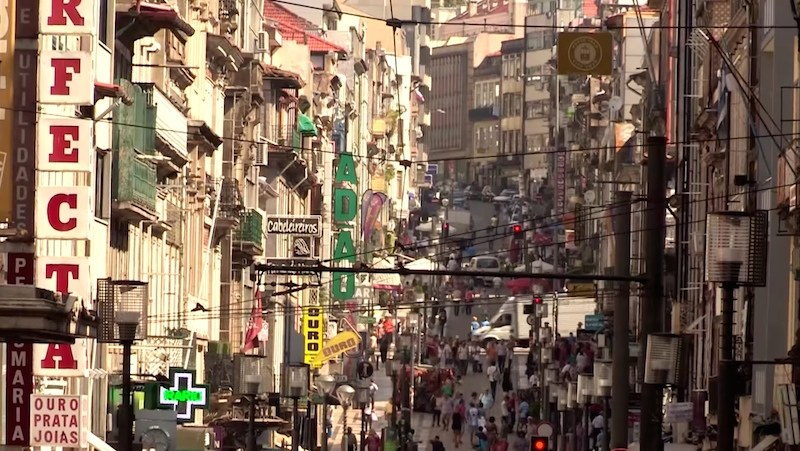 Rue santa catarina porto