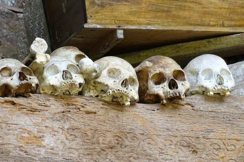 tombes toraja sulawesi