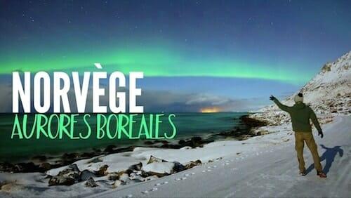 Chasse Aurores boréales Norvège