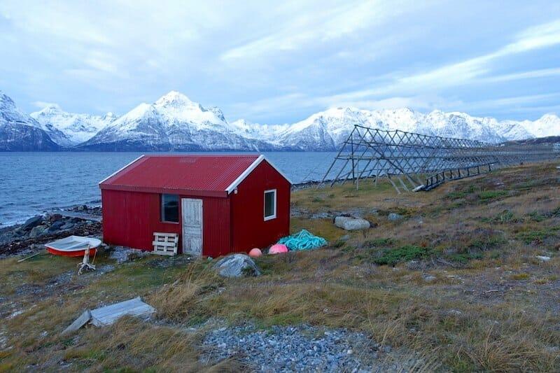 lyngen fjord norvège