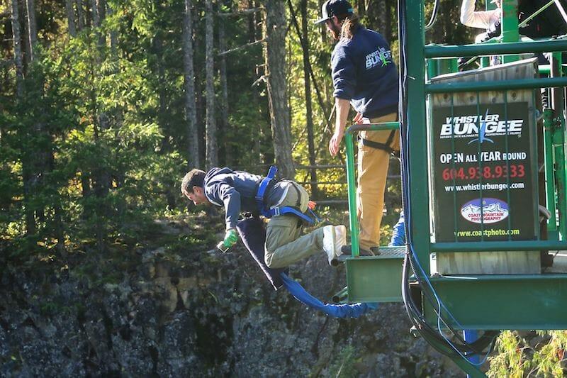 saut elastique whistler canada bc