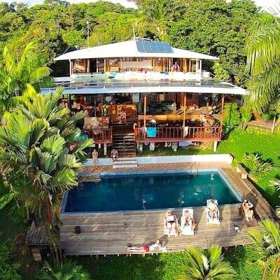 Bambuda Lodge Isla Solarte panama