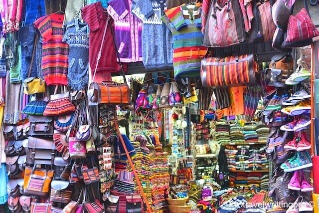 La Paz marche souvenirs