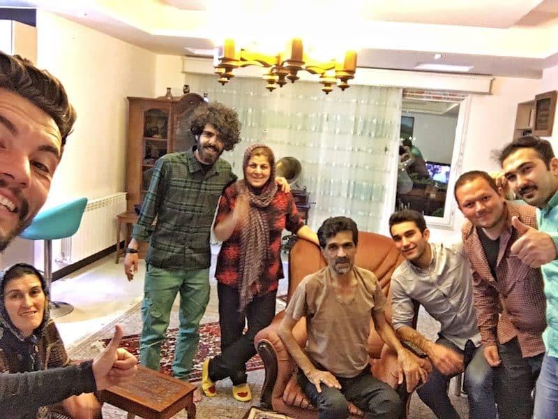accueil famille iranienne