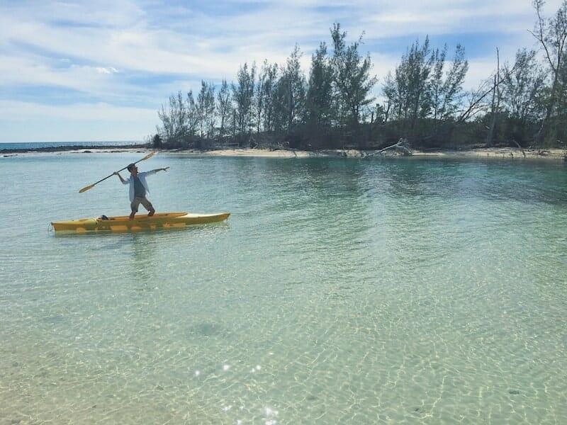 kayak ile Grand Bahamas
