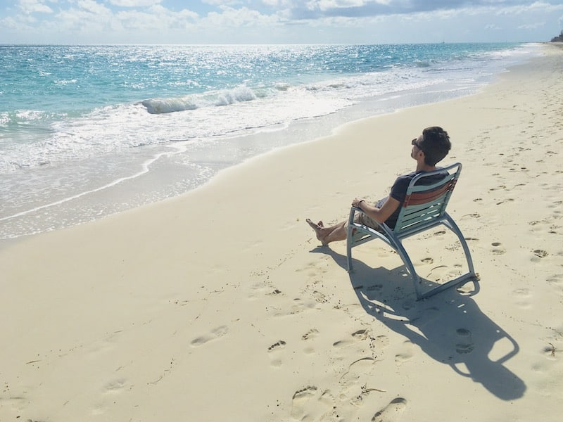 plage paradisiaque aux Bahamas
