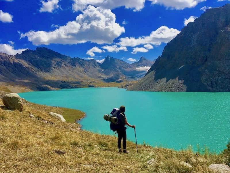 trek a pied kirghizistan