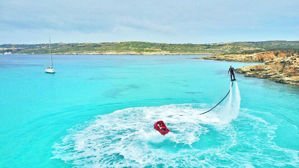 flyboard comino