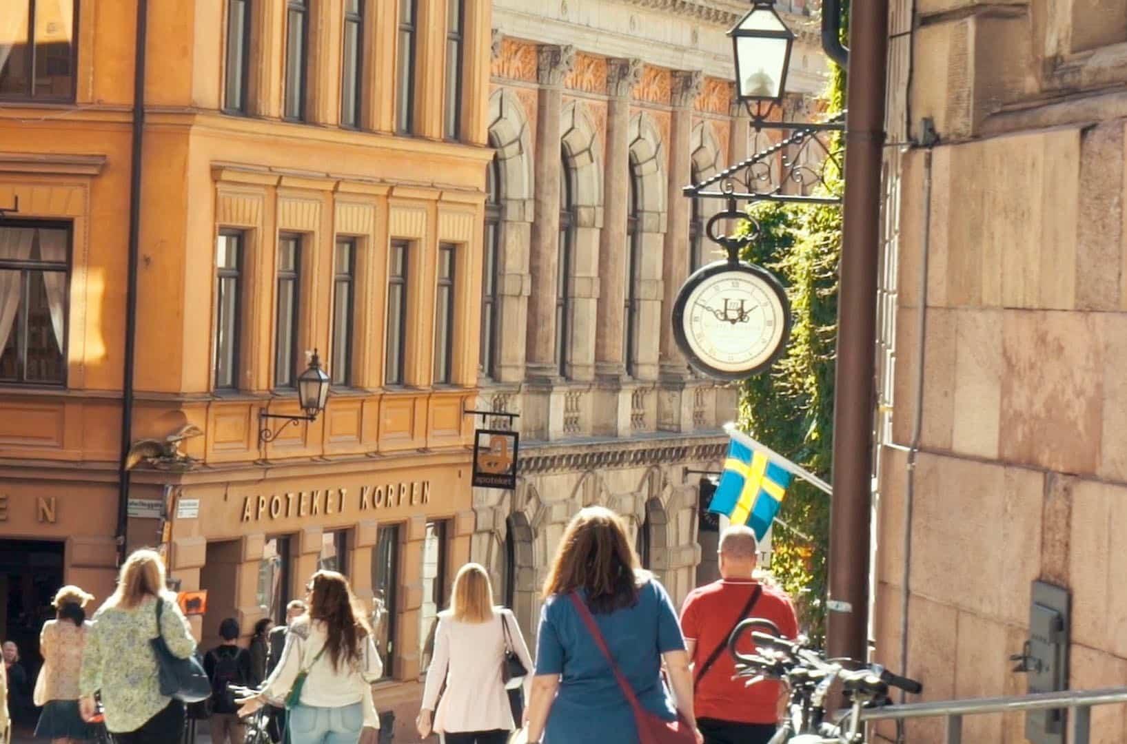 Gamla stan vieille ville stockholm