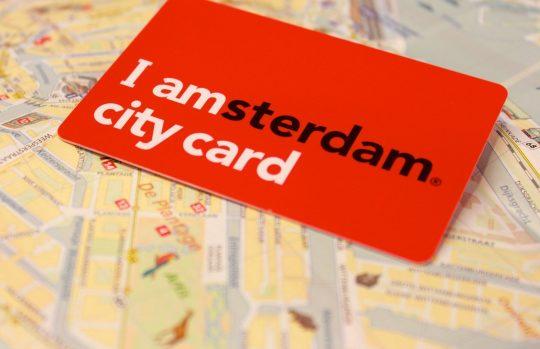 city card pass I amsterdam visite