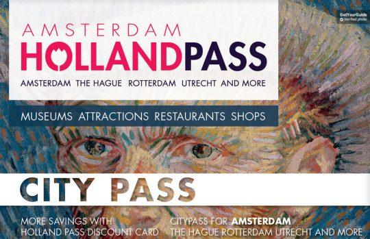 holland pass amsterdam visite
